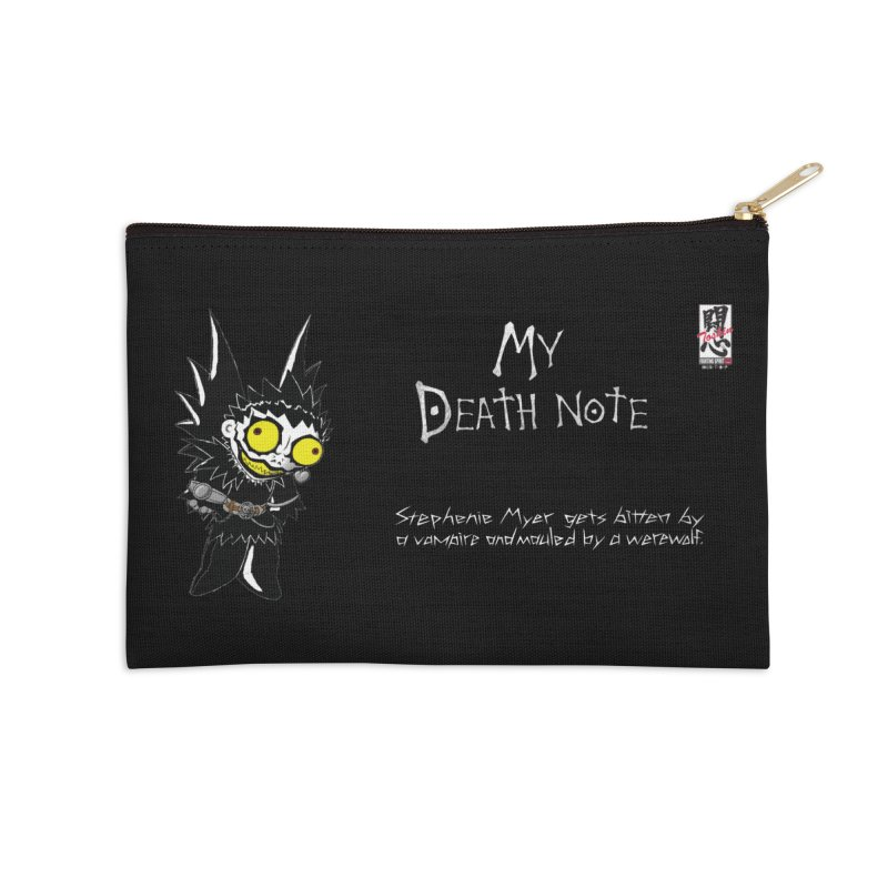 Stephanie Myer Deathnote Accessories Zip Pouch by Zheph Skyre