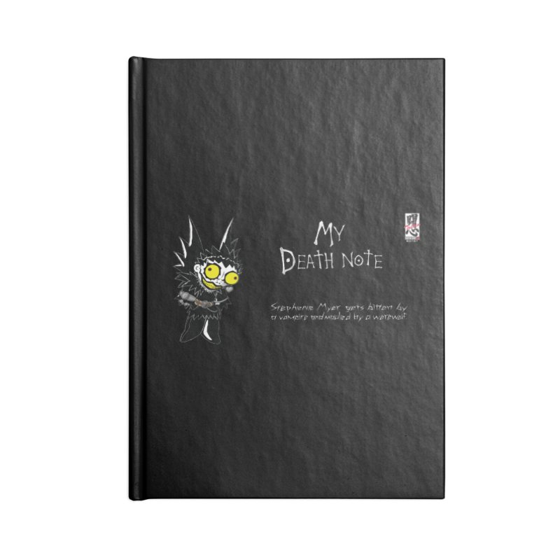 Stephanie Myer Deathnote Accessories Notebook by zhephskyre's Artist Shop