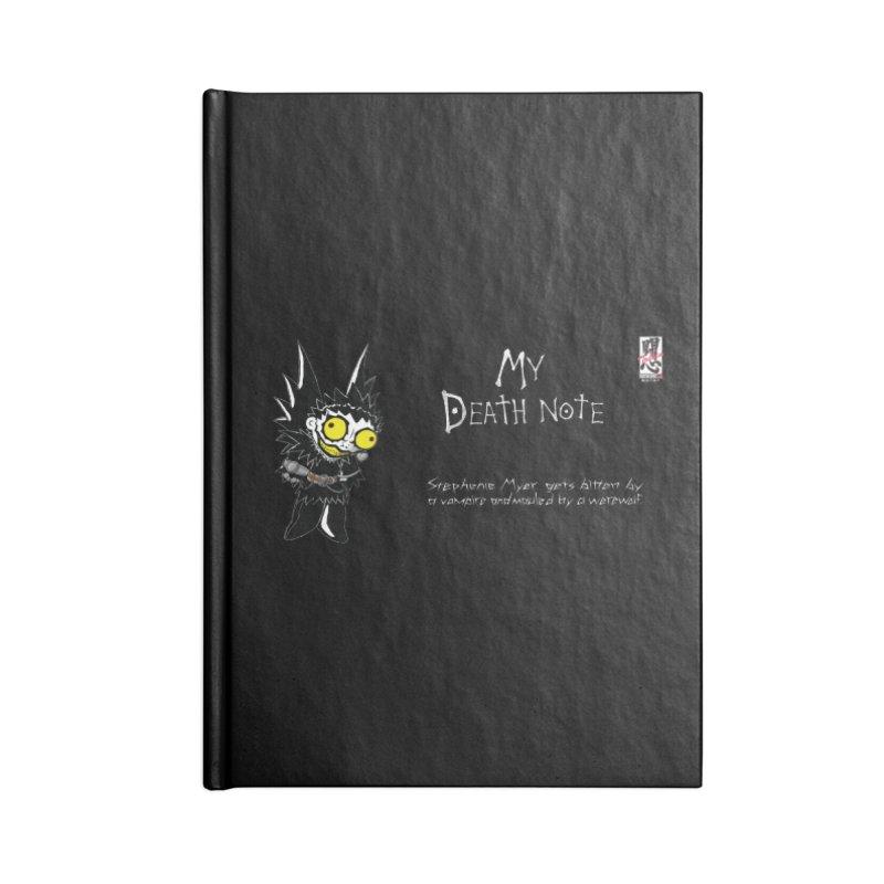 Stephanie Myer Deathnote Accessories Notebook by Zheph Skyre
