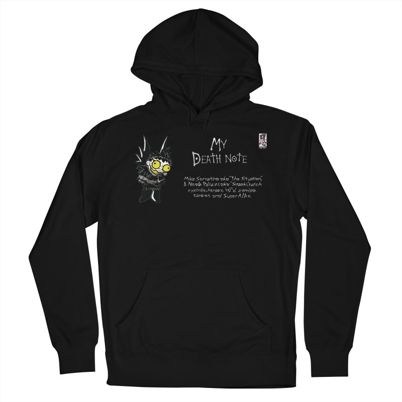 Jersey Shore Men's French Terry Pullover Hoody by zhephskyre's Artist Shop
