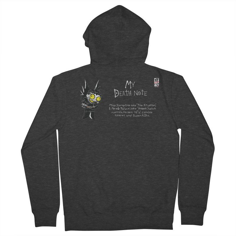Jersey Shore Men's French Terry Zip-Up Hoody by Zheph Skyre