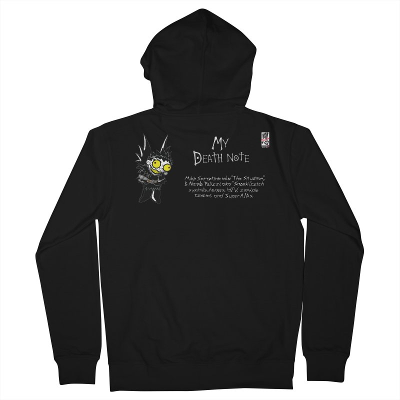 Jersey Shore Men's French Terry Zip-Up Hoody by zhephskyre's Artist Shop