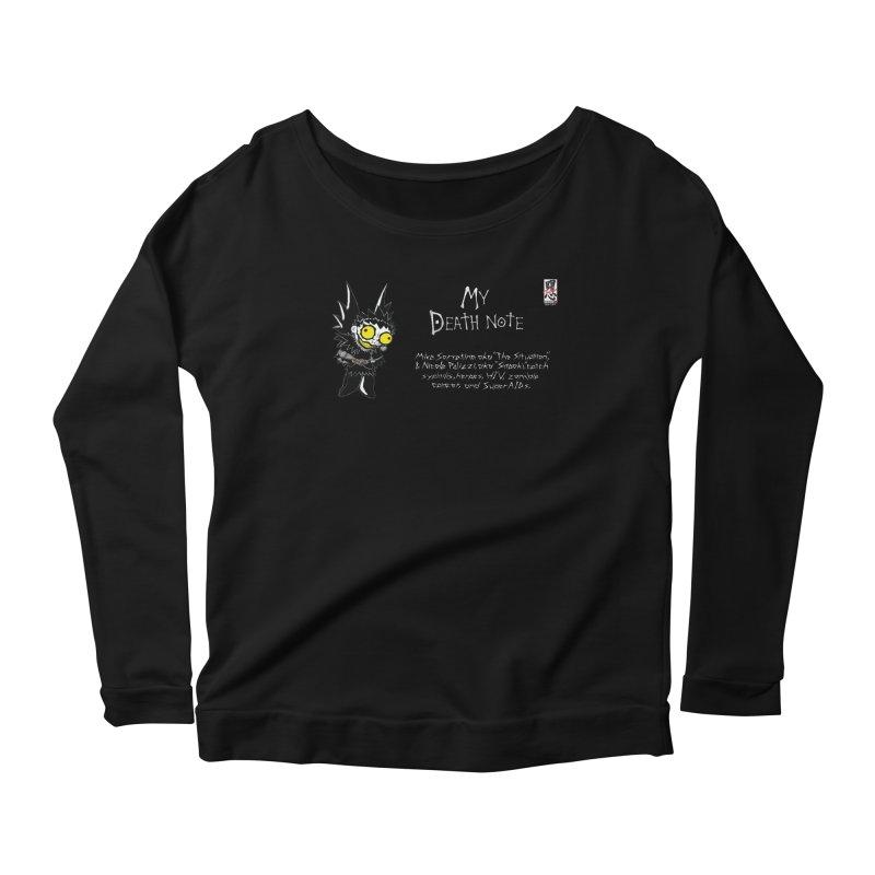 Jersey Shore Women's Scoop Neck Longsleeve T-Shirt by Zheph Skyre