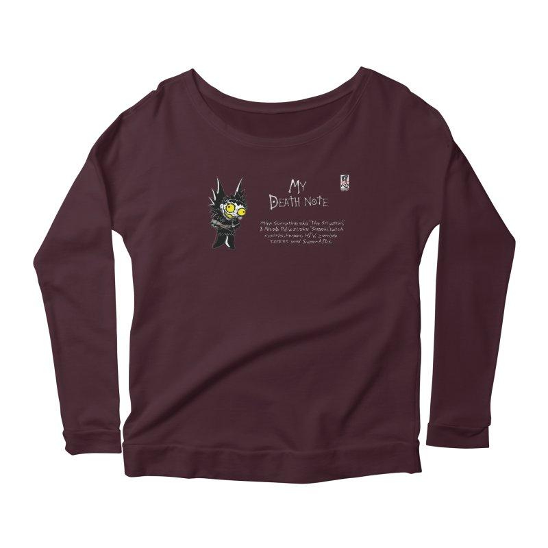 Jersey Shore Women's Scoop Neck Longsleeve T-Shirt by zhephskyre's Artist Shop