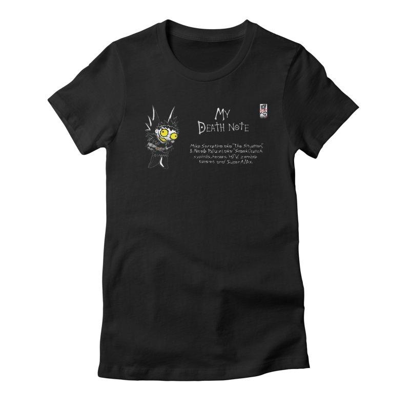 Jersey Shore Women's Fitted T-Shirt by zhephskyre's Artist Shop