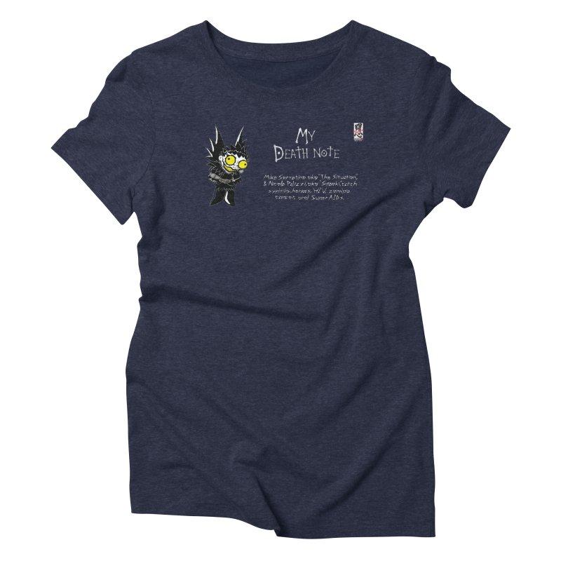 Jersey Shore Women's Triblend T-Shirt by zhephskyre's Artist Shop