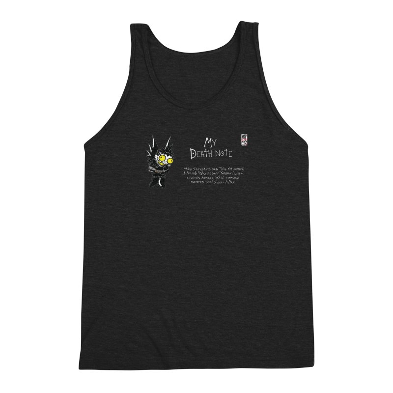 Jersey Shore Men's Triblend Tank by Zheph Skyre