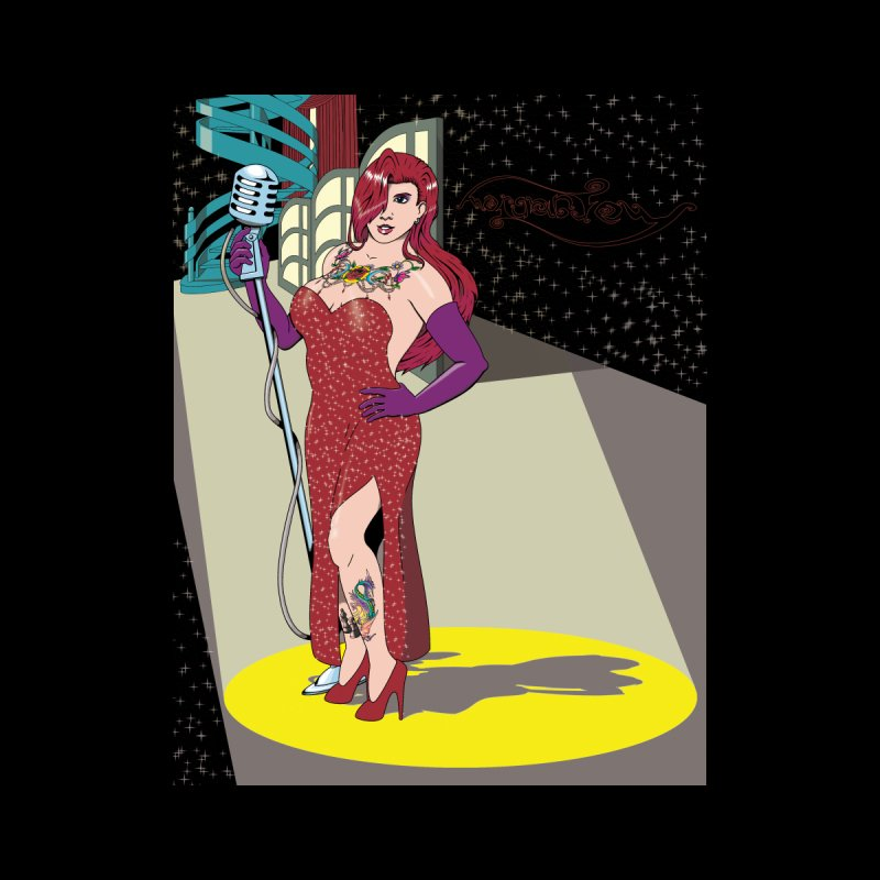 Jessica Rabbit Men's T-Shirt by Zheph Skyre