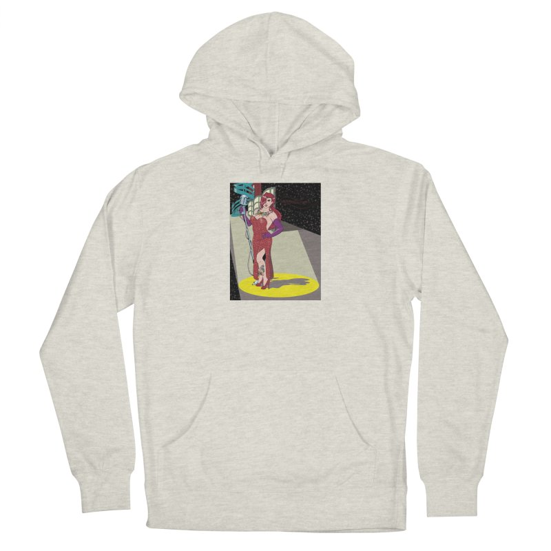 Jessica Rabbit Women's French Terry Pullover Hoody by Zheph Skyre