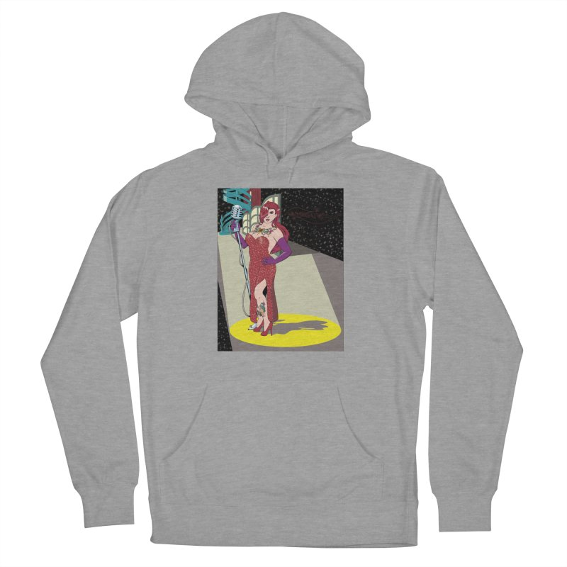 Jessica Rabbit Women's French Terry Pullover Hoody by zhephskyre's Artist Shop