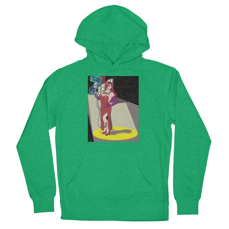 Jessica Rabbit Men's French Terry Pullover Hoody by zhephskyre's Artist Shop