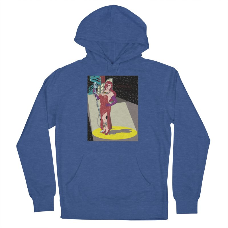 Jessica Rabbit Men's French Terry Pullover Hoody by Zheph Skyre