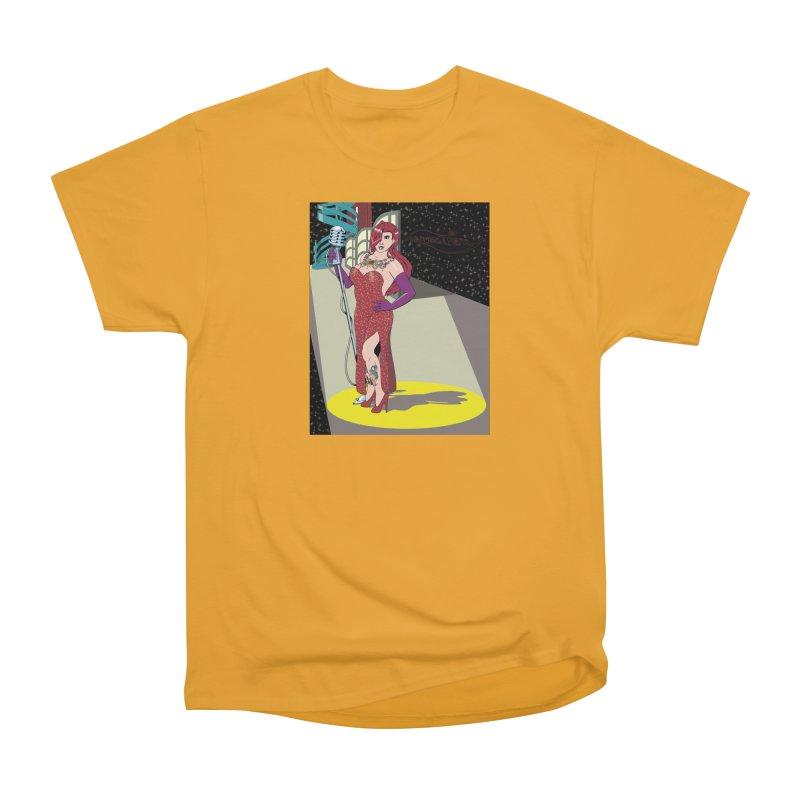 Jessica Rabbit Men's Heavyweight T-Shirt by zhephskyre's Artist Shop