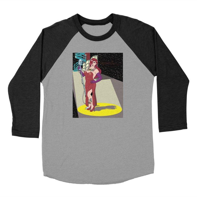 Jessica Rabbit Women's Baseball Triblend Longsleeve T-Shirt by zhephskyre's Artist Shop
