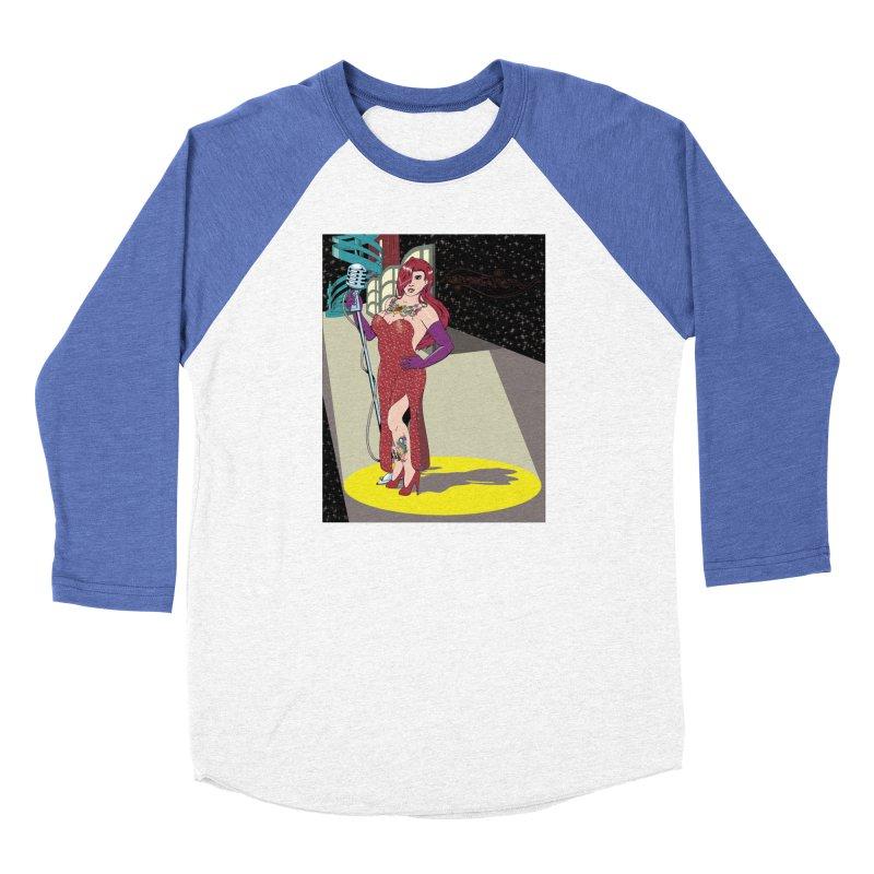 Jessica Rabbit Men's Baseball Triblend Longsleeve T-Shirt by Zheph Skyre