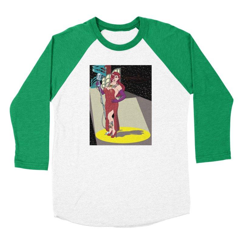 Jessica Rabbit Men's Baseball Triblend T-Shirt by zhephskyre's Artist Shop