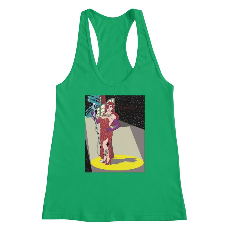 Jessica Rabbit Women's Tank by Zheph Skyre