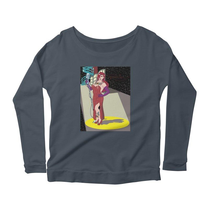 Jessica Rabbit Women's Scoop Neck Longsleeve T-Shirt by Zheph Skyre