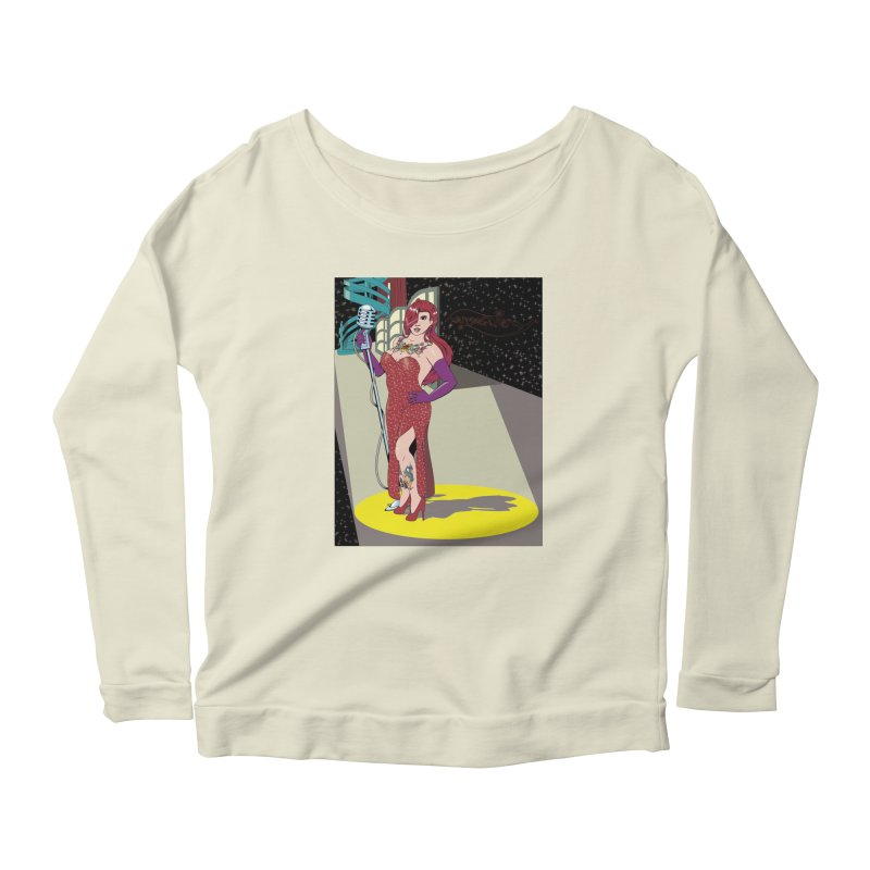 Jessica Rabbit Women's Scoop Neck Longsleeve T-Shirt by zhephskyre's Artist Shop
