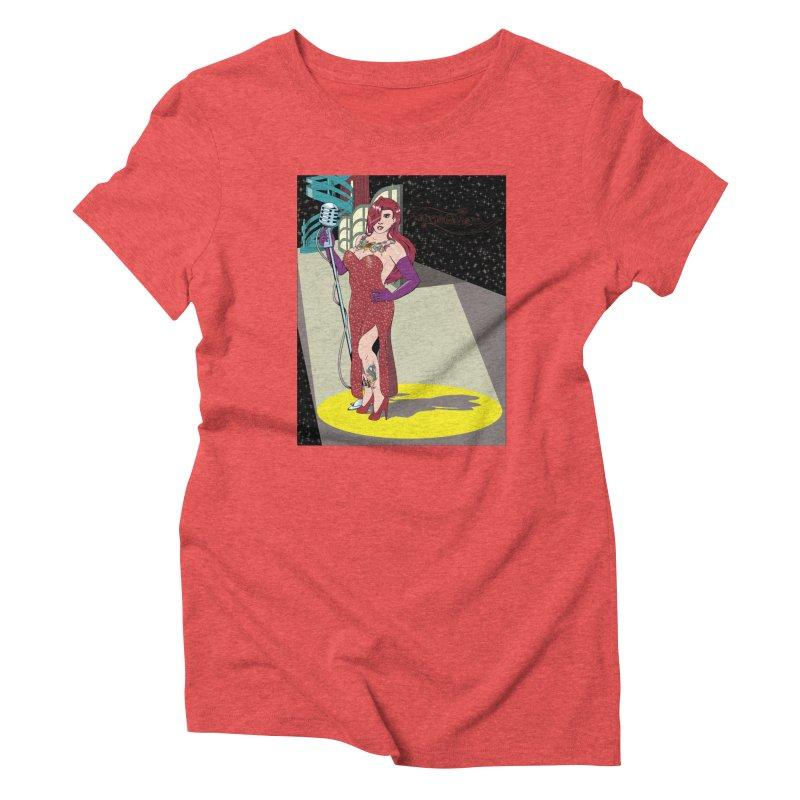 Jessica Rabbit Women's Triblend T-Shirt by zhephskyre's Artist Shop