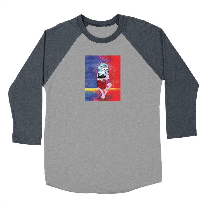 Furry #1 Men's Baseball Triblend Longsleeve T-Shirt by Zheph Skyre