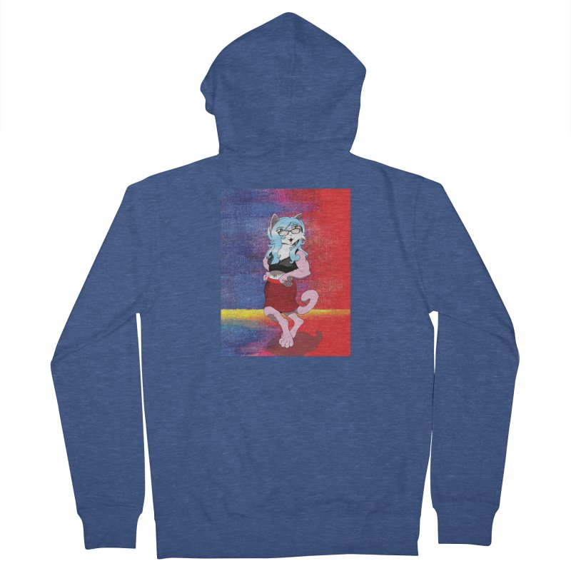 Furry #1 Men's French Terry Zip-Up Hoody by zhephskyre's Artist Shop