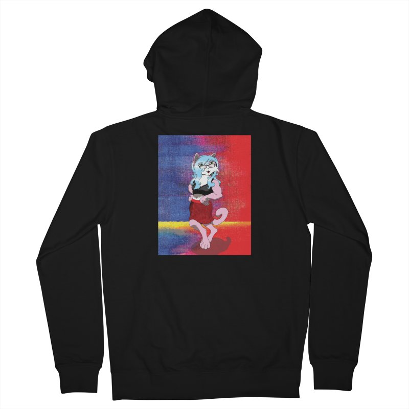Furry #1 Men's French Terry Zip-Up Hoody by Zheph Skyre