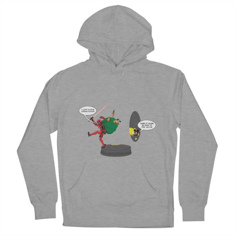 Deadpool at Disney! Women's Pullover Hoody by zhephskyre's Artist Shop