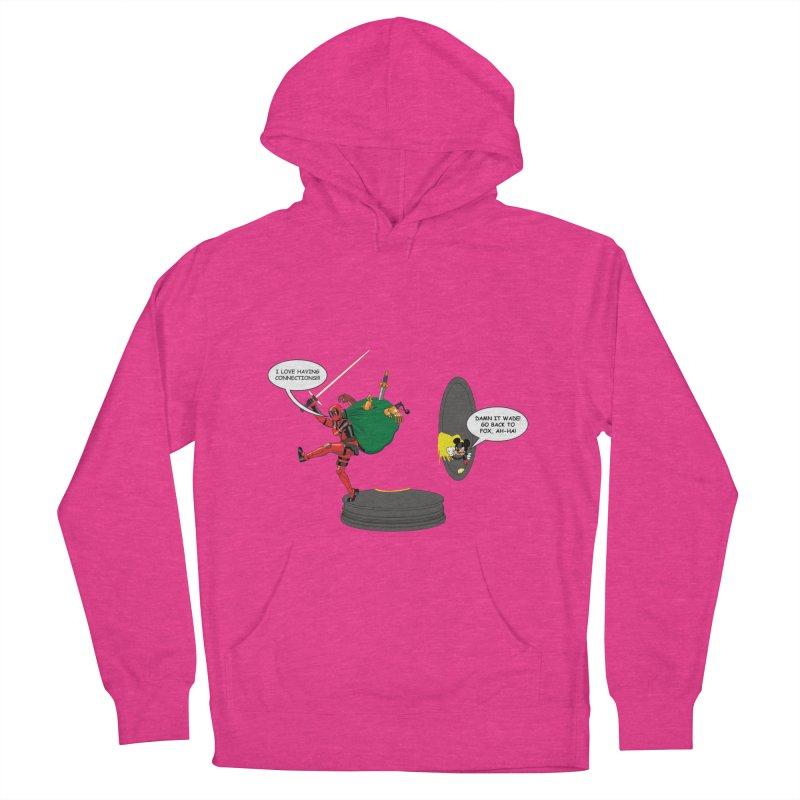 Deadpool at Disney! Women's Pullover Hoody by zhephskyre's Artist Shop