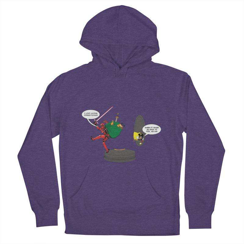 Deadpool at Disney! Men's Pullover Hoody by zhephskyre's Artist Shop
