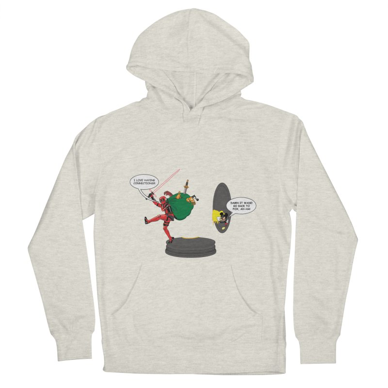 Deadpool at Disney! Men's French Terry Pullover Hoody by zhephskyre's Artist Shop