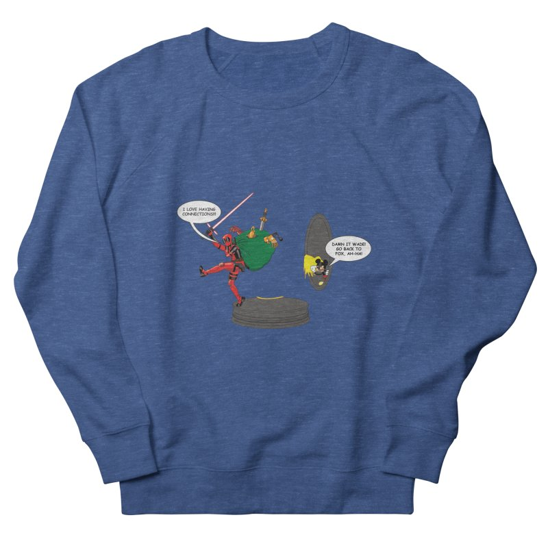 Deadpool at Disney! Women's Sweatshirt by zhephskyre's Artist Shop