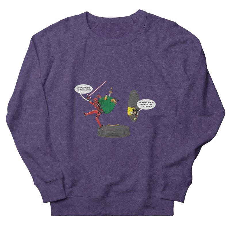 Deadpool at Disney! Women's French Terry Sweatshirt by zhephskyre's Artist Shop
