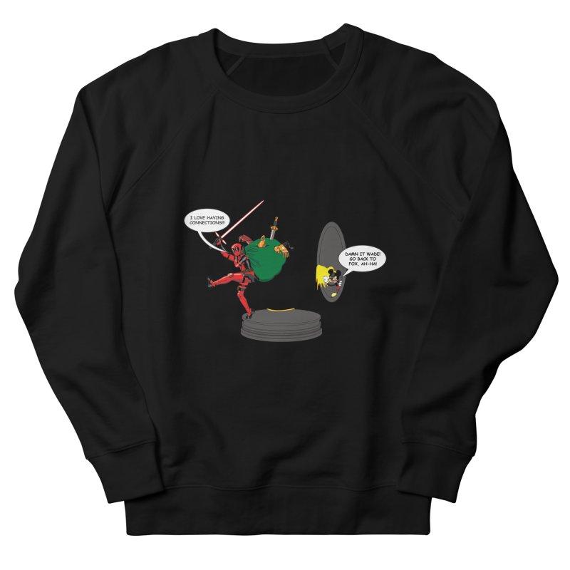 Deadpool at Disney! Women's French Terry Sweatshirt by Zheph Skyre