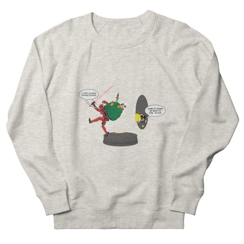 Deadpool at Disney! Men's French Terry Sweatshirt by zhephskyre's Artist Shop