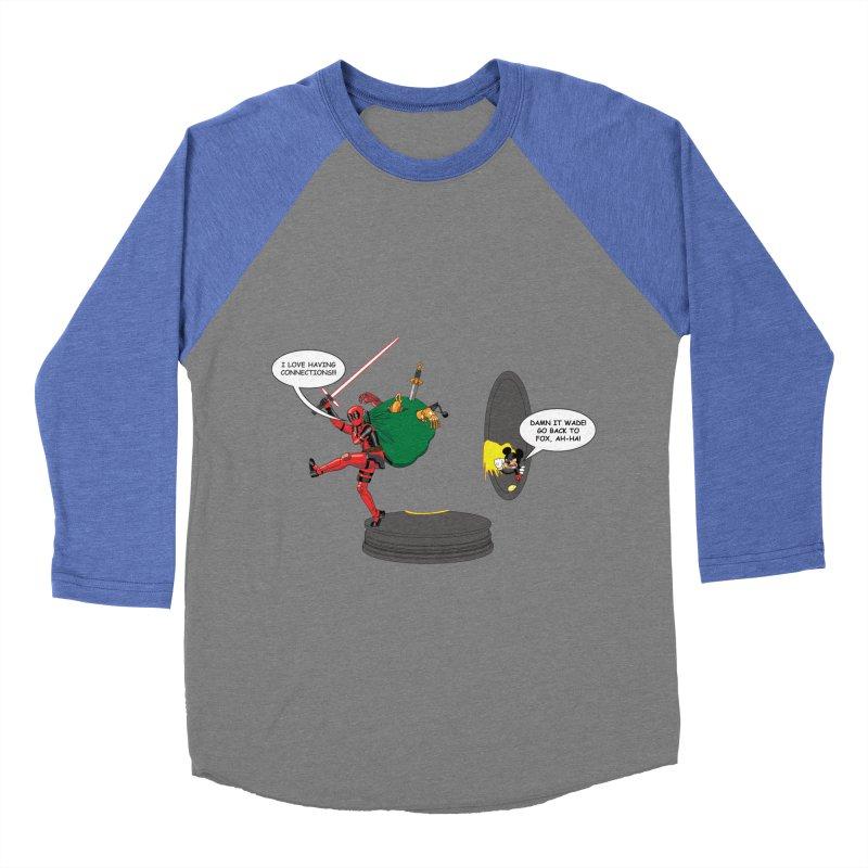 Deadpool at Disney! Women's Baseball Triblend Longsleeve T-Shirt by Zheph Skyre