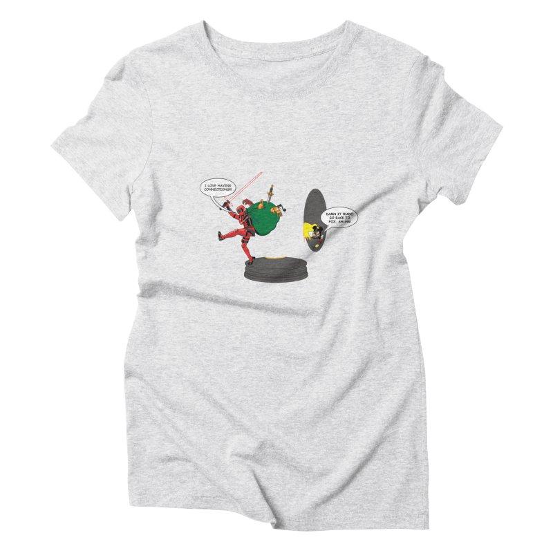 Deadpool at Disney! Women's Triblend T-Shirt by zhephskyre's Artist Shop
