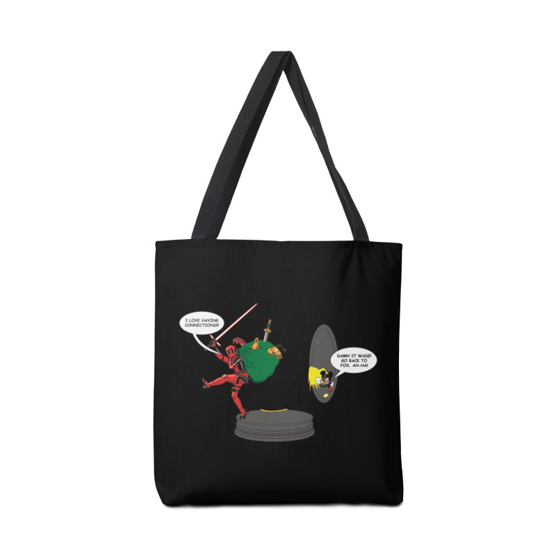Deadpool at Disney! Accessories Tote Bag Bag by Zheph Skyre