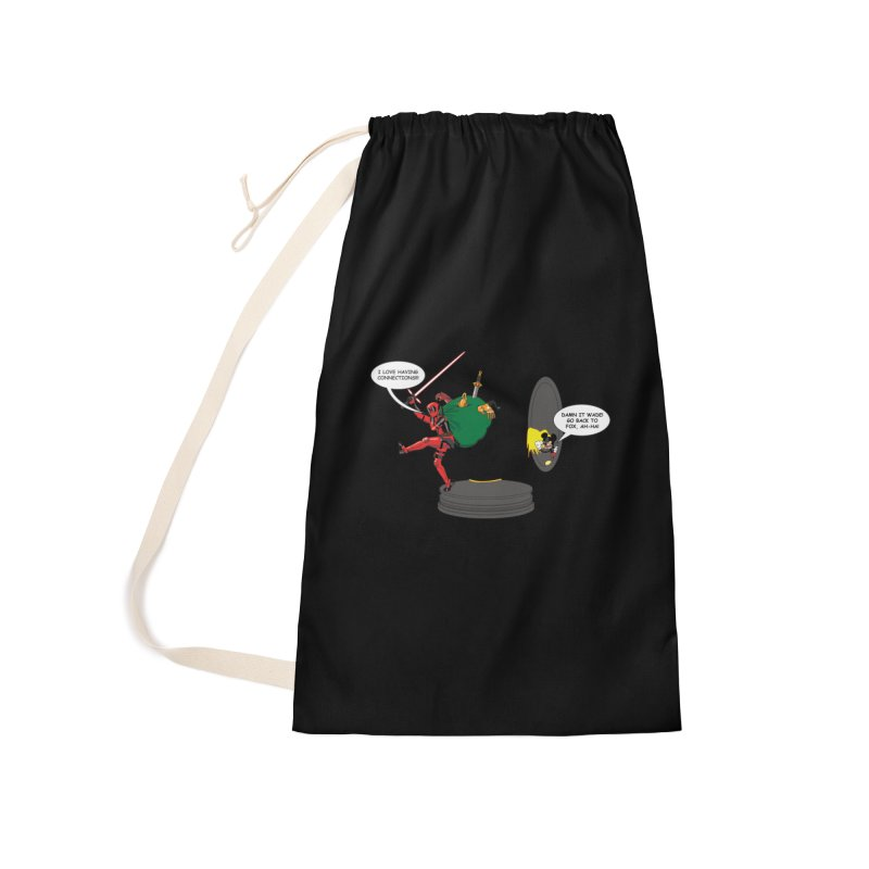 Deadpool at Disney! Accessories Laundry Bag Bag by Zheph Skyre