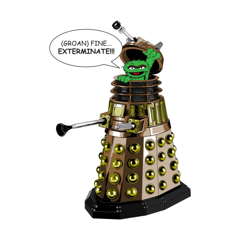 Oscar the Dalek by zhephskyre's Artist Shop
