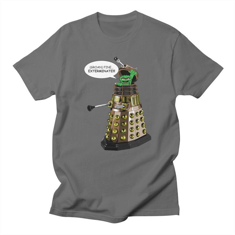 Oscar the Dalek Men's T-Shirt by Zheph Skyre
