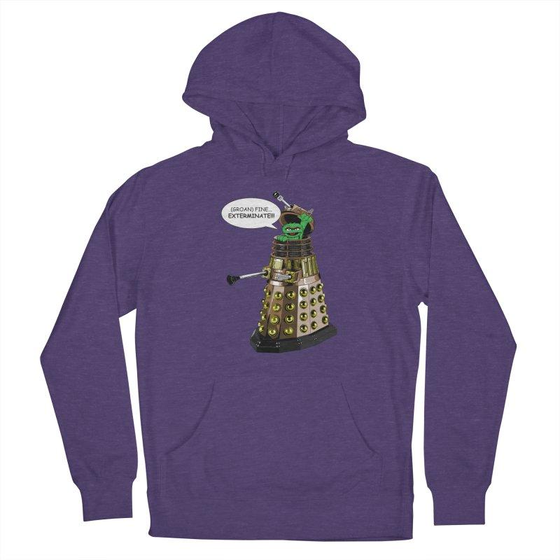 Oscar the Dalek Women's Pullover Hoody by Zheph Skyre