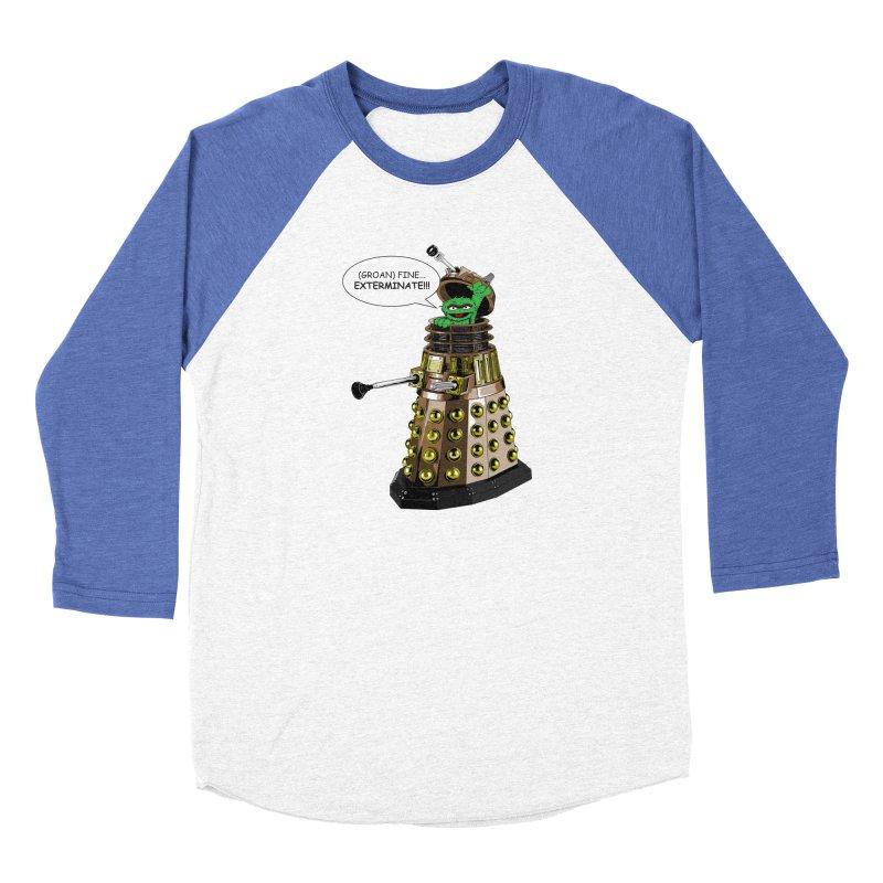Oscar the Dalek Women's Baseball Triblend Longsleeve T-Shirt by Zheph Skyre