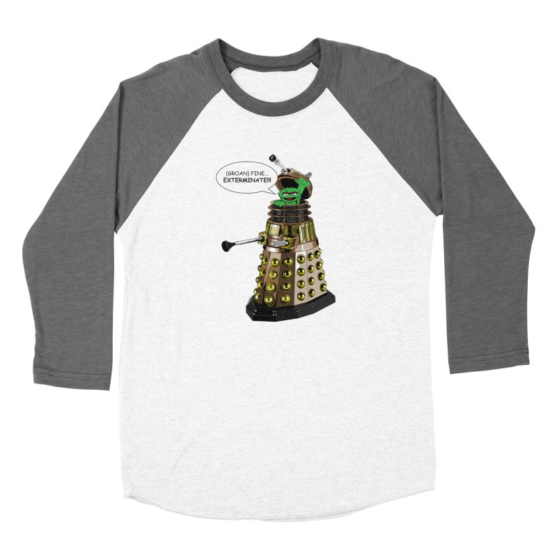 Oscar the Dalek Women's Longsleeve T-Shirt by Zheph Skyre