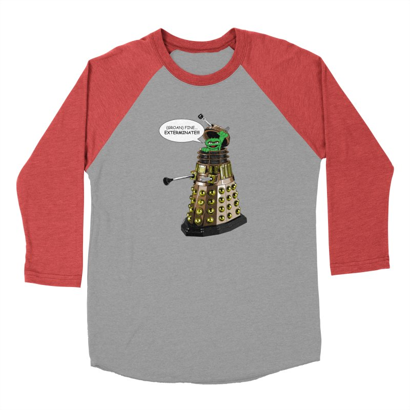 Oscar the Dalek Men's Longsleeve T-Shirt by Zheph Skyre