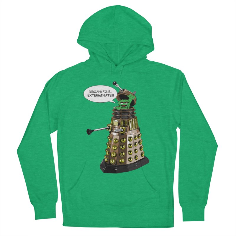 Oscar the Dalek Women's French Terry Pullover Hoody by Zheph Skyre