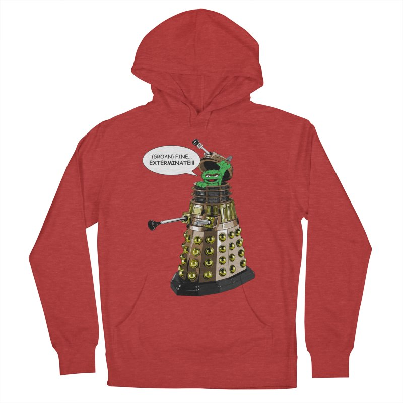 Oscar the Dalek Women's Pullover Hoody by zhephskyre's Artist Shop