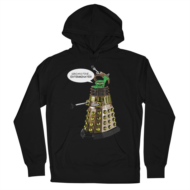 Oscar the Dalek Women's French Terry Pullover Hoody by zhephskyre's Artist Shop