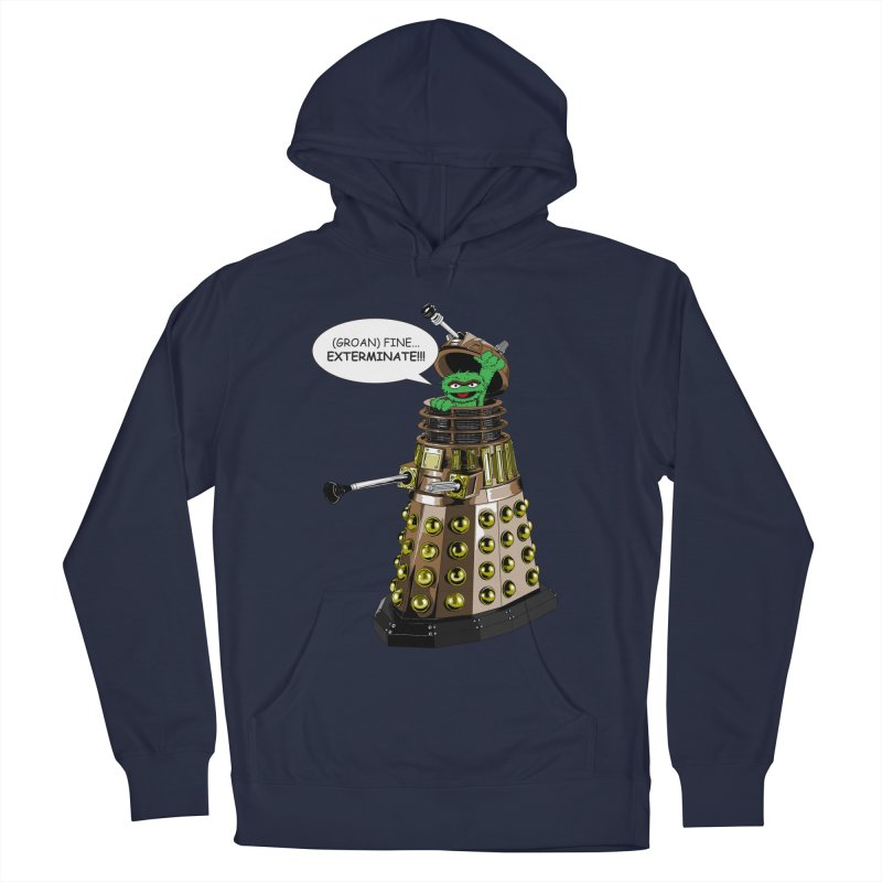 Oscar the Dalek Men's Pullover Hoody by zhephskyre's Artist Shop