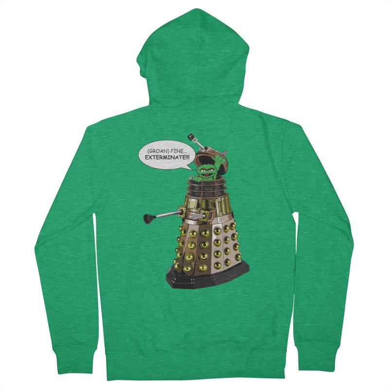Oscar the Dalek Women's Zip-Up Hoody by Zheph Skyre